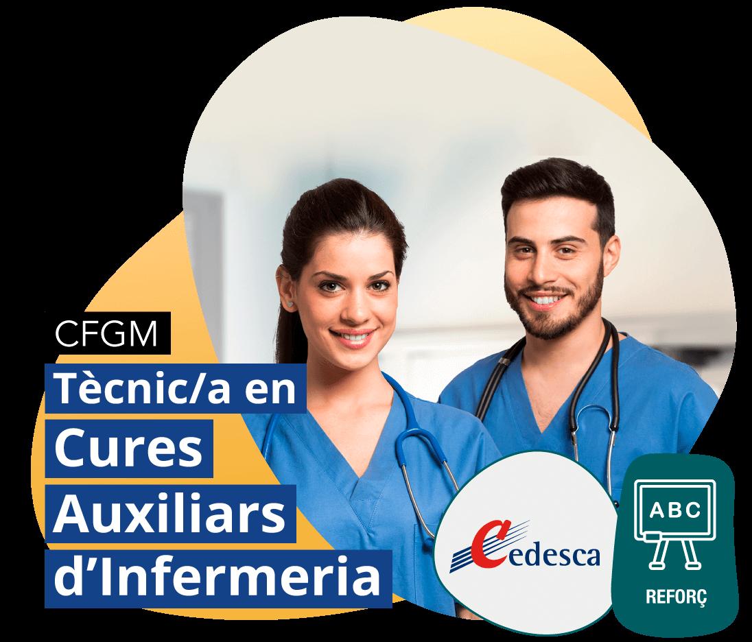 CFGM Tècnic/a en Cures Auxiliars d'Infermeria REFORÇ