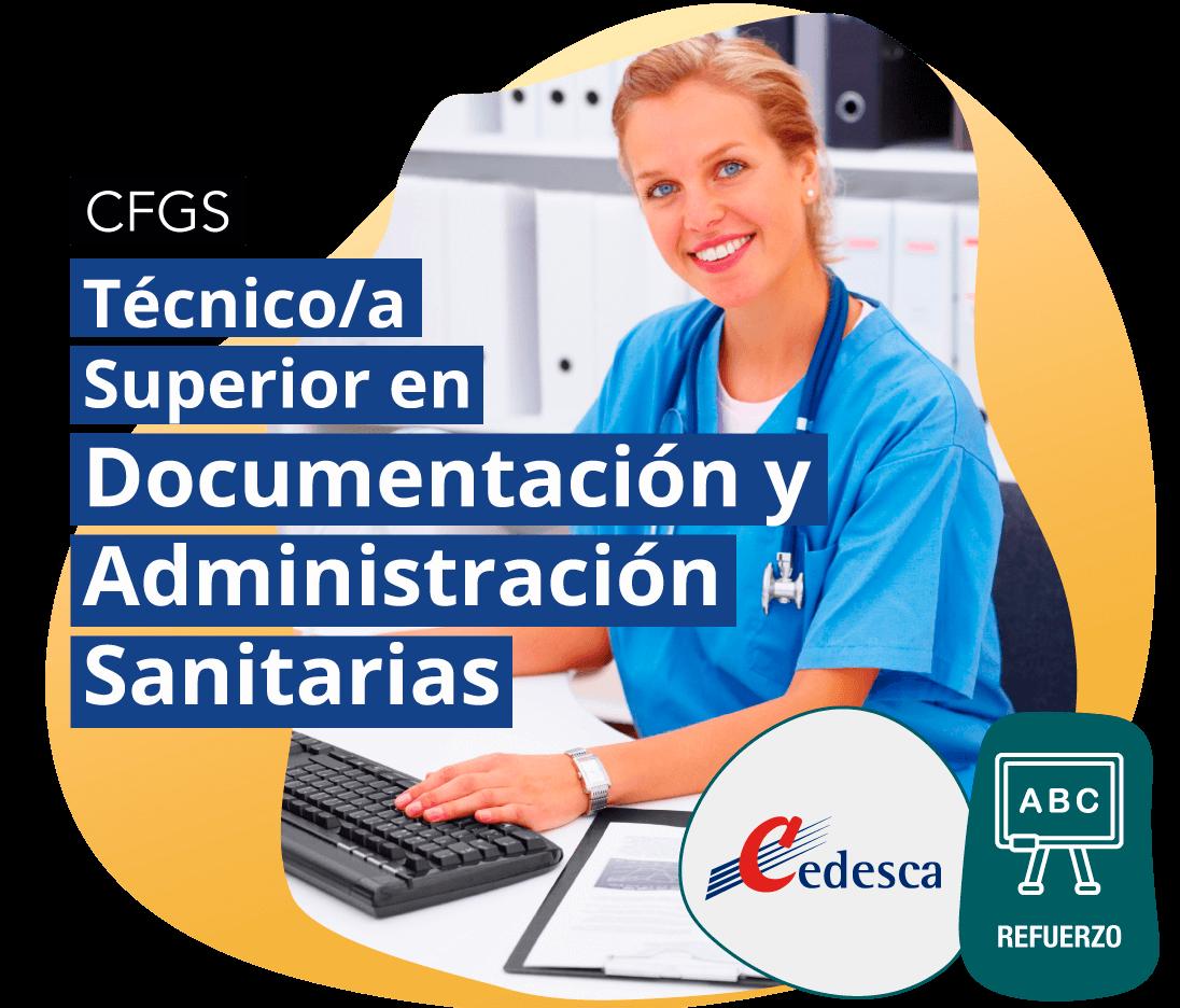 CFGS Técnico/a Superior en Documentación y Administración Sanitarias REFUERZO