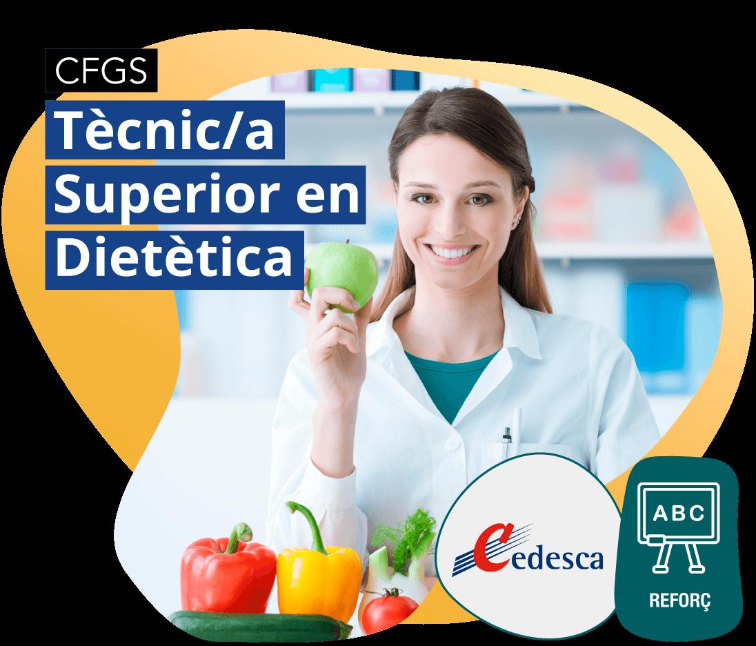 CFGM Tècnic/a Superior en Dietètica REFORÇ