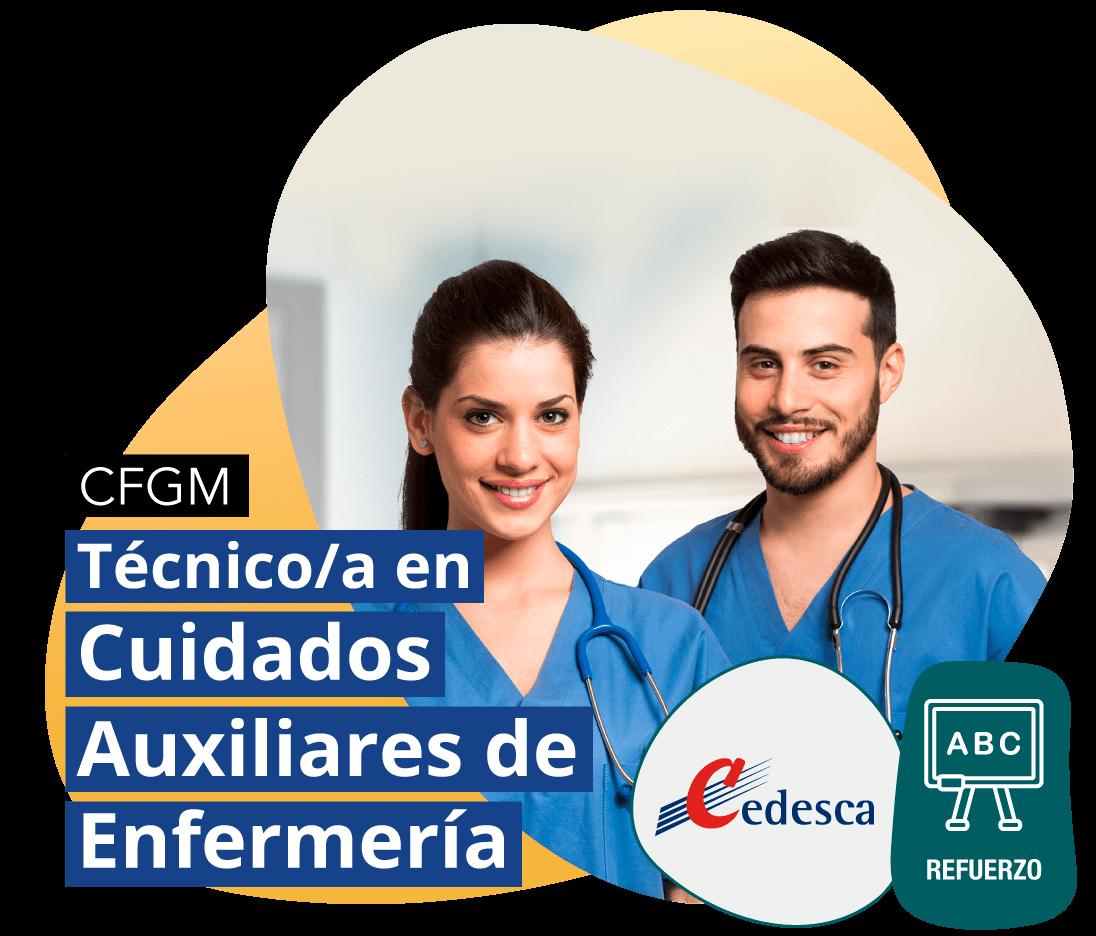 CFGM Técnico/a en Cuidados Auxiliares de Enfermería REFUERZO